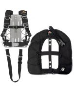 DR TransPlate Package w/ XT Light Backplate, Rec EXP Wing and 1.5-in Crotch Strap