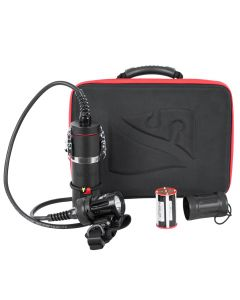 HP50 Light Head, Canister and Handheld Batteries, Soft Handmount and Travel Case