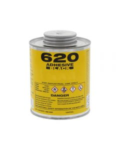 Front View - 620 Adhesive Black