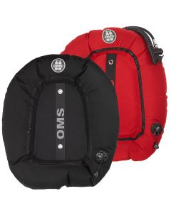 OMS Performance Double Wing - Black and Red
