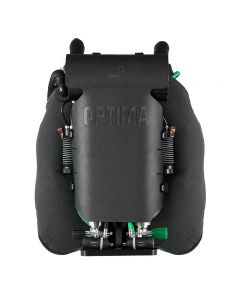 DR O2ptima Rebreather w/Shearwater Electronics - Back View