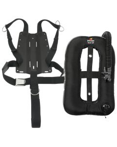 DR Travel EXP, Aluminum Backplate and Harness w/ 2-Inch Crotch Strap