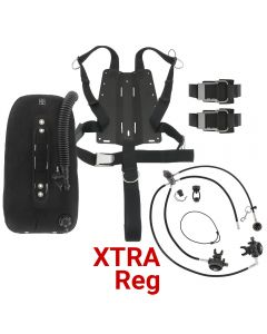 DGX Gears Singles Harness, Wing, and XTRA Reg Package with AL Backplate