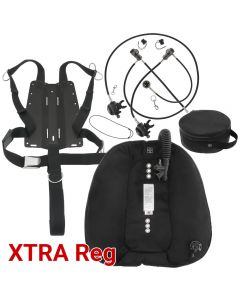 DGX Gears Doubles Wing, Harness and XTRA Reg Package with AL Backplate