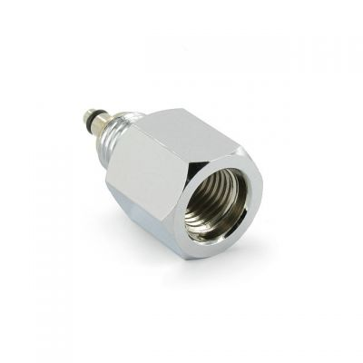 DGX Adapter: Mini-SPG to HP Hose, Straight (includes spool)