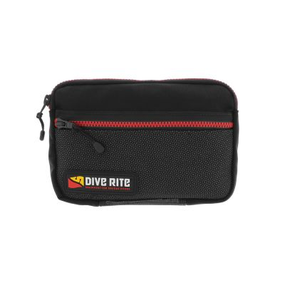 Dive Rite Standard Horizontal DC Bellows Pocket w/ Zipper Closure