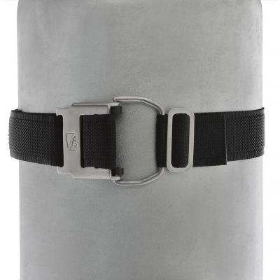 DR Low Profile Tank Strap on HDG Cylinder