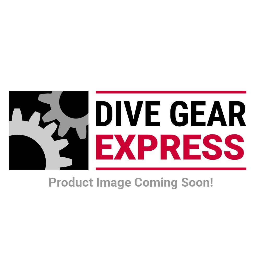 Dive Rite Travel EXP Wing - BLUE {25 lb | 11 kg} Lift w/ Plain Elbow, 12-in Hose