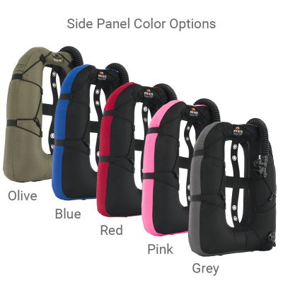 Side Panels Available in OLIVE, BLUE, RED, PINK and GREY