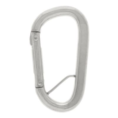 S/S Carabiner with Keeper