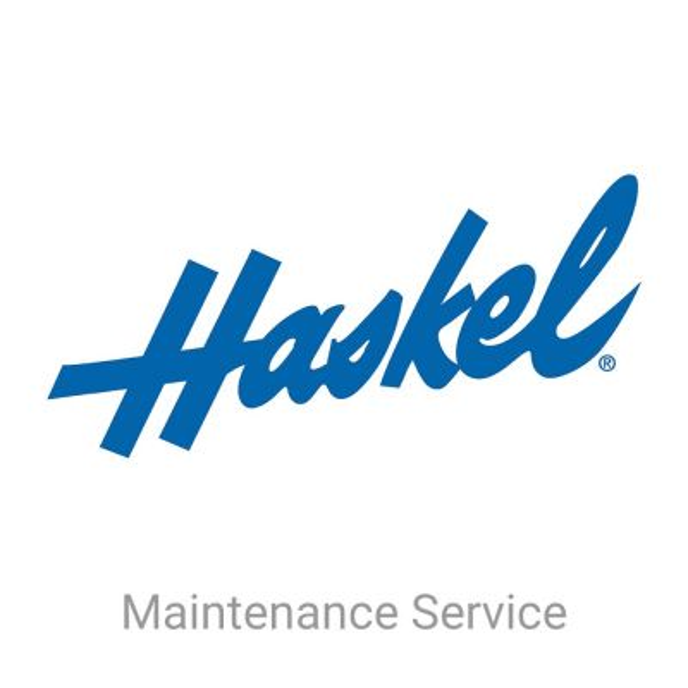 Haskel MSB-900 Maintenance Service