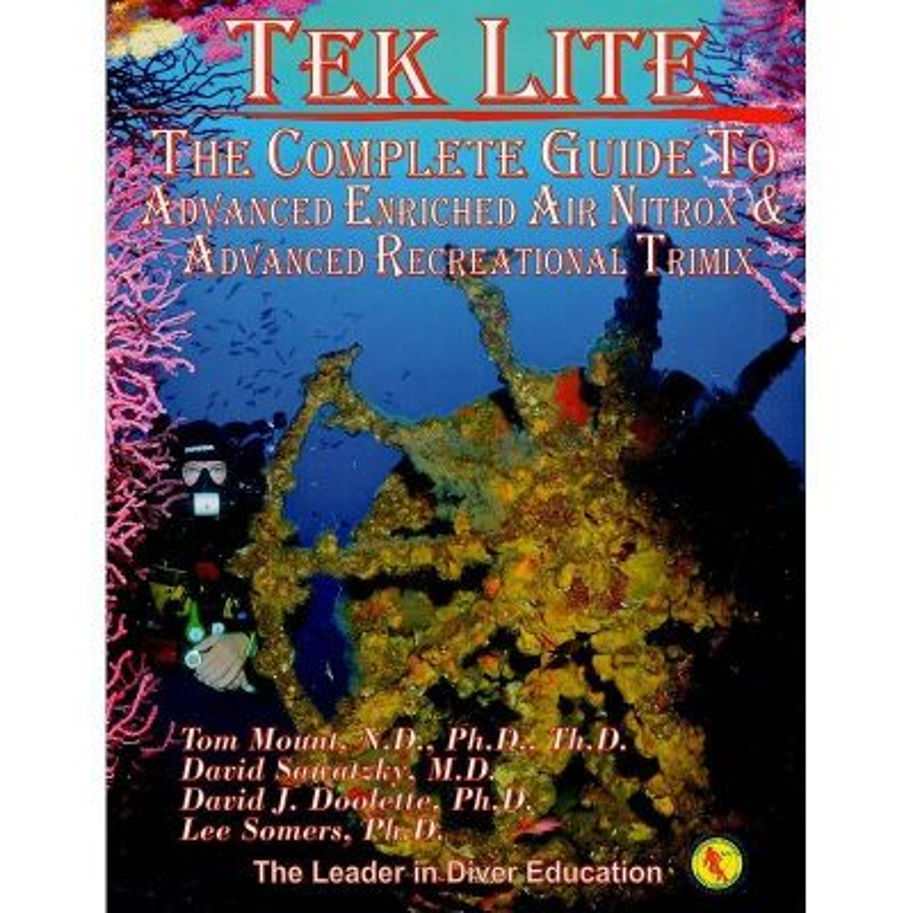 IANTD Tek Lite Diver Manual - Front Cover