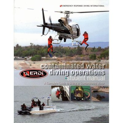 ERDI Contaminated Water Diving Operations - Front Cover