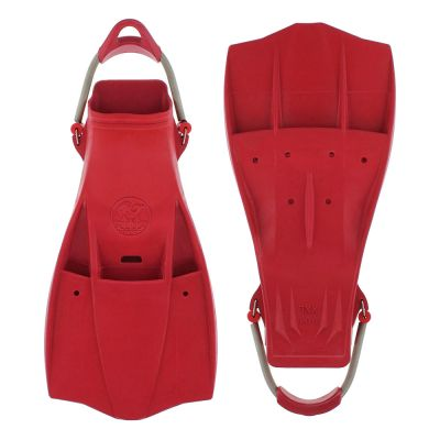 Poseidon Trident Fin Red - Size L