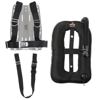 Custom Package w/ XT Light Backplate, Travel EXP Wing and 1.5-in Crotch Strap
