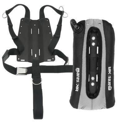 XR Singles {22 lb | 10 kg}, Aluminum Backplate and Harness w/ 2-Inch Crotch Strap