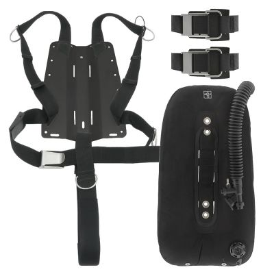 Includes DGX Singles Wing, Harness, Crotch Strap, Tank Straps and Your Choice of Backplate