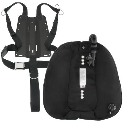 Includes DGX Doubles Wing, Harness, Crotch Strap, and Your Choice of Backplate