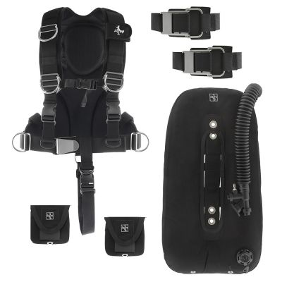 Package Includes Harness, Wing, Tank Straps and Weight Pockets