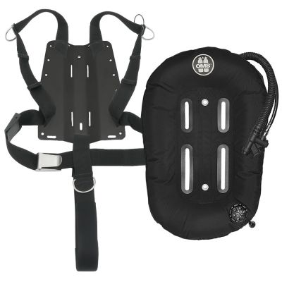 OMS Mono {27 lb | 12 kg}, Aluminum Backplate and Harness w/ 2-Inch Crotch Strap