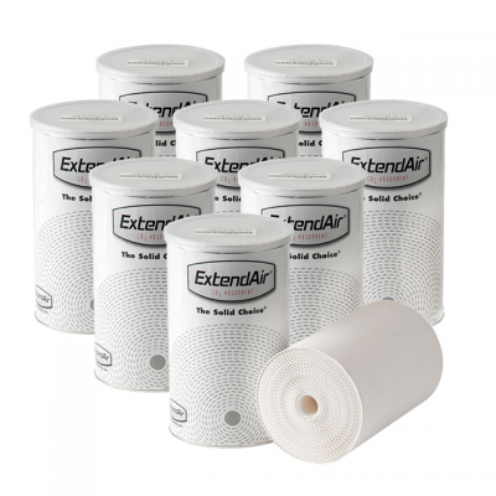 ExtendAir 801C CO2 Absorbent Cartridges (8 Pack)