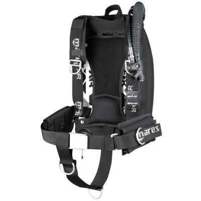 Mares XR Silver Singles Harness/Backplate/Wing Package