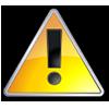 Tek Tip Warning Image
